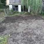 Umgegrabener Garten